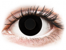 CRAZY LENS - Black Out - Tehoilla (2 gekleurde daglenzen)