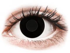 CRAZY LENS - Black Out - Ei-Dioptriset (2 gekleurde daglenzen)