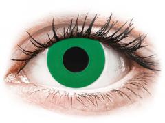 CRAZY LENS - Emerald Green - Ei-Dioptriset (2 gekleurde daglenzen)