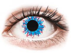 CRAZY LENS - Harlequin - Ei-Dioptriset (2 gekleurde daglenzen)