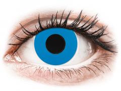 CRAZY LENS - Sky Blue - Ei-Dioptriset (2 gekleurde daglenzen)