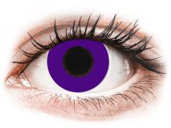CRAZY LENS - Solid Violet - Ei-Dioptriset (2 gekleurde daglenzen)