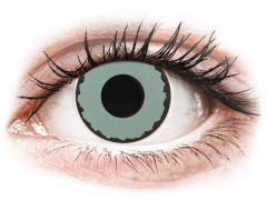 CRAZY LENS - Zombie Virus - Ei-Dioptriset (2 gekleurde daglenzen)