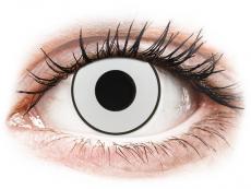CRAZY LENS - White Black - Tehoilla (2 gekleurde daglenzen)