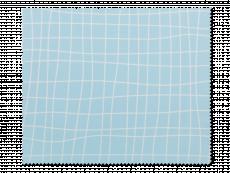 Puhdistusliina laseille - vaaleansininen ruudukko