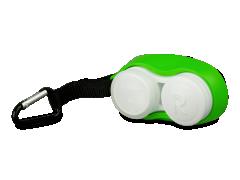 Linssikotelo hakasella - vihreä