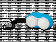 Linssikotelo hakasella - sininen+
