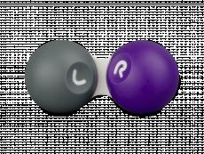 Piilolinssikotelo - harmaa-violetti