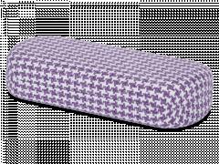 Lasikotelo - Kukko violetti-valkoinen