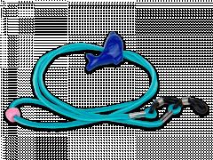 Sininen kaulanauha laseille - delfiini