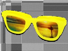 OptiShades linssikotelo - keltainen