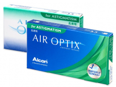 Air Optix for Astigmatism (3 kpl)