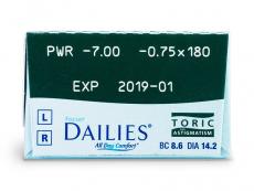 Focus Dailies Toric (30kpl)