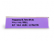 FREQUENCY XCEL TORIC XR (3 kpl)
