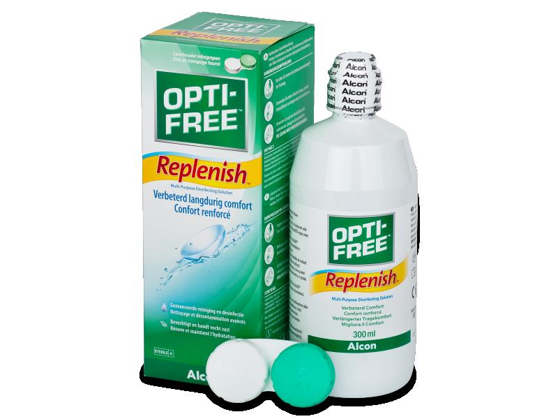 OPTI-FREE RepleniSH -piilolinssineste 300ml