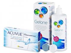 Acuvue Oasys (6kpl) +Gelone360ml