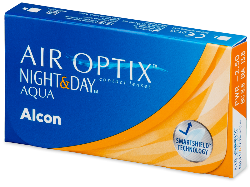 Air Optix Night and Day Aqua (6 kpl)