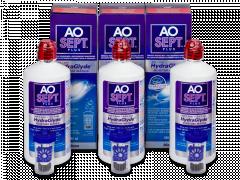 AO SEPT PLUS HydraGlyde -piilolinssineste 3x360ml